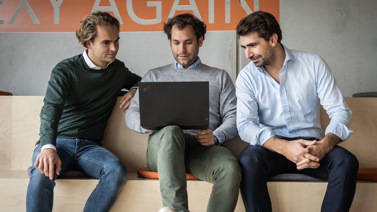Nicolaus Schefenacker, David Nothacker et Julius Köhler ont cofondé Sennder.
