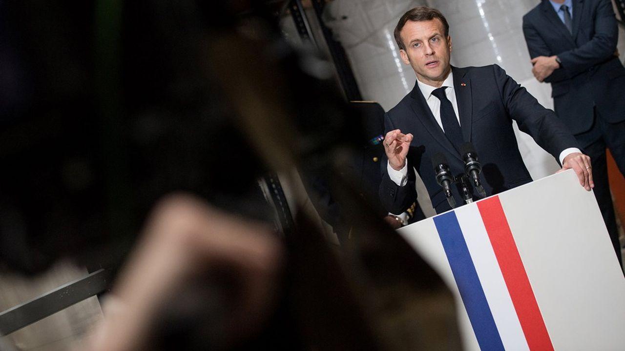 Reforme De L Etat Emmanuel Macron Veut Redonner De L Elan A Un Processus Enlise Les Echos