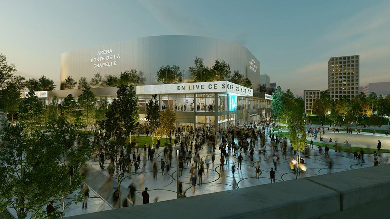 Cette salle de sport et de spectacles de 8.000 places assises sera destinée à accueillir les épreuves de badminton pendant les Jeux Olympiques.