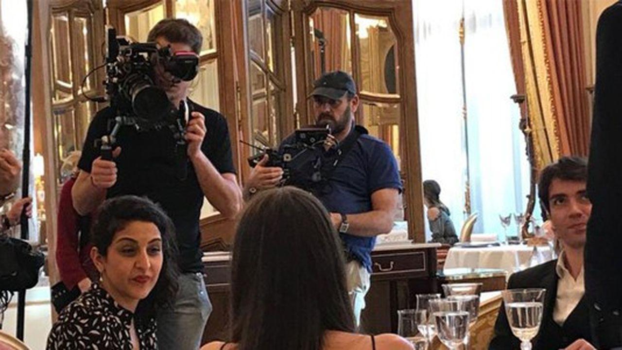 La mini-série « The Chef in a Truck », disponible sur Netflix dès mercredi a été tournée en partie au Ritz Paris.