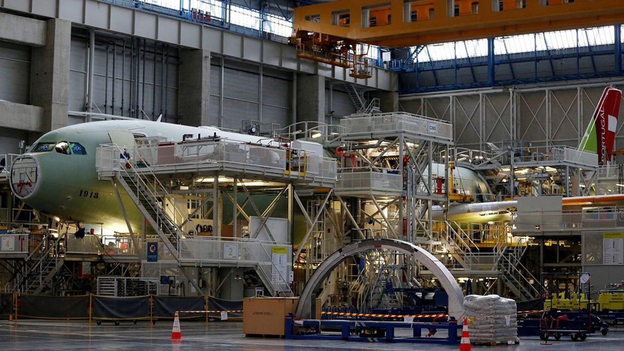 Avec le soutien du gouvernement, l'aéronautique française espère donner naissance au premier avion de ligne «décarboné» dès 2035.