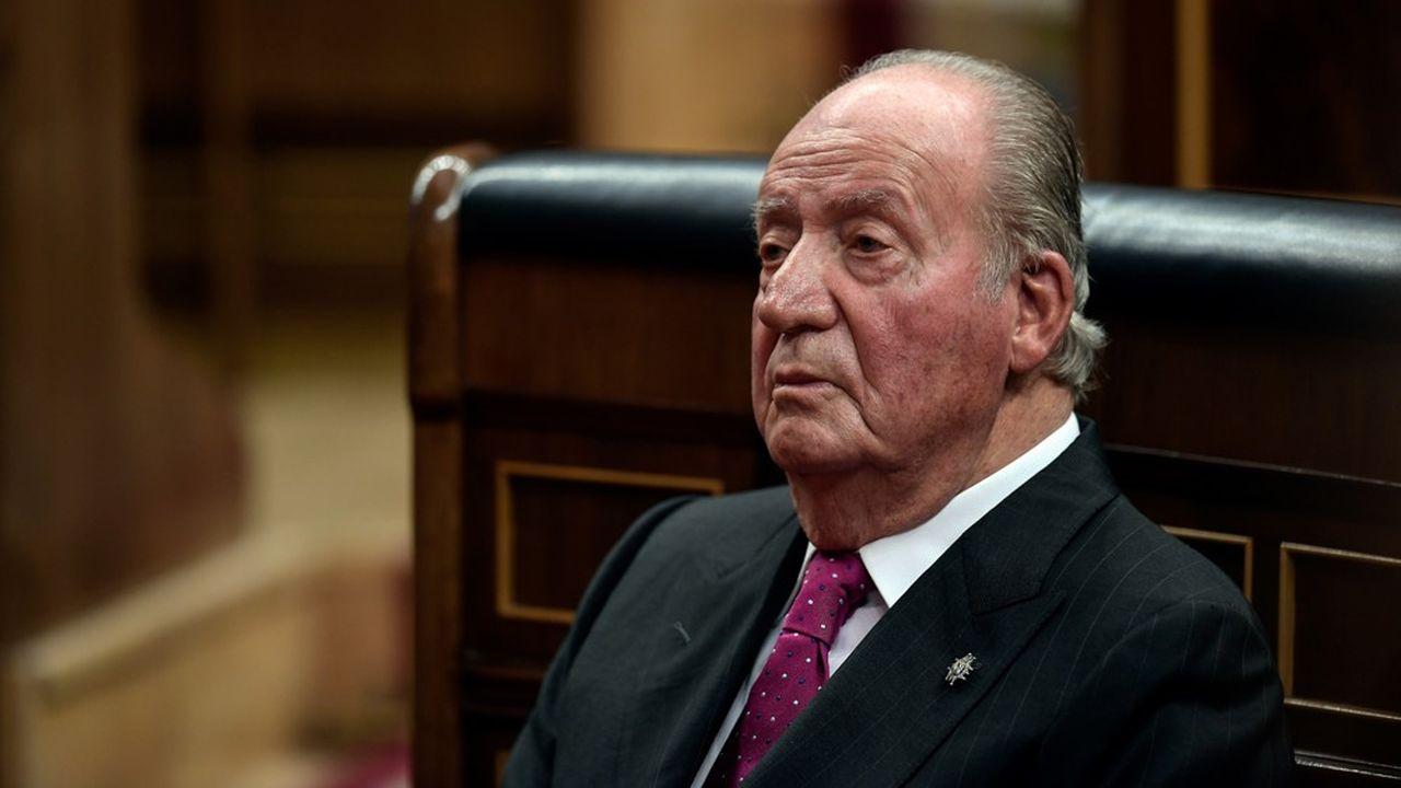 Le roi émérite Juan Carlos.