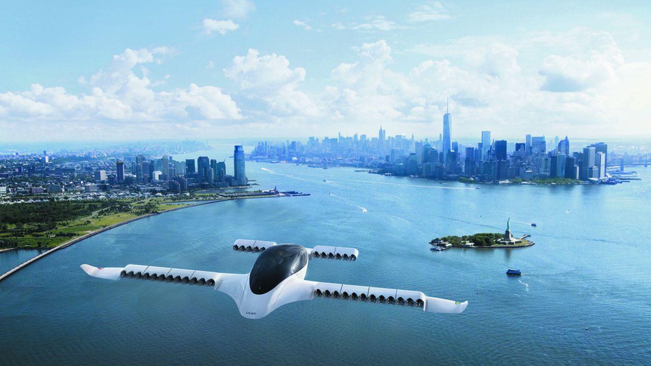 Le «Lilium Jet», un aéronef biplace totalement électrique, doit pouvoir à terme disposer d'une autonomie de 300 kilomètres et atteindre la vitesse de 300km/h.