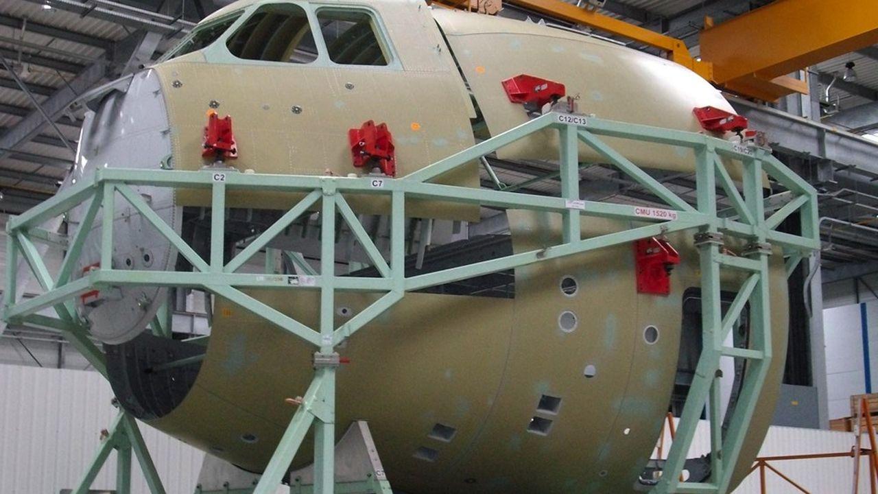 Le site de Méaulte est spécialisé dans la fabrication des pointes avant, notamment de la gamme Airbus.