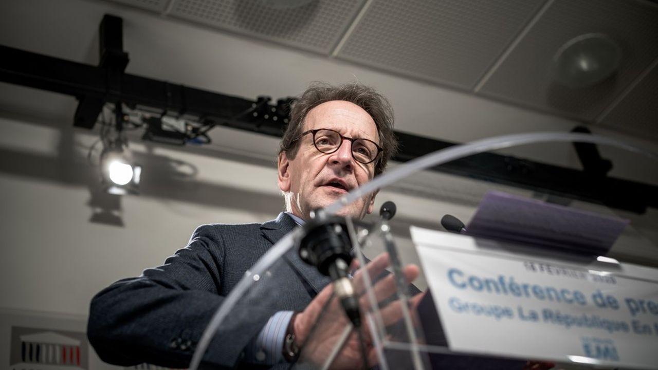 Gilles Le Gendre, président du groupe LREM, est sur la sellette après la publication d'une note sur le remaniement.
