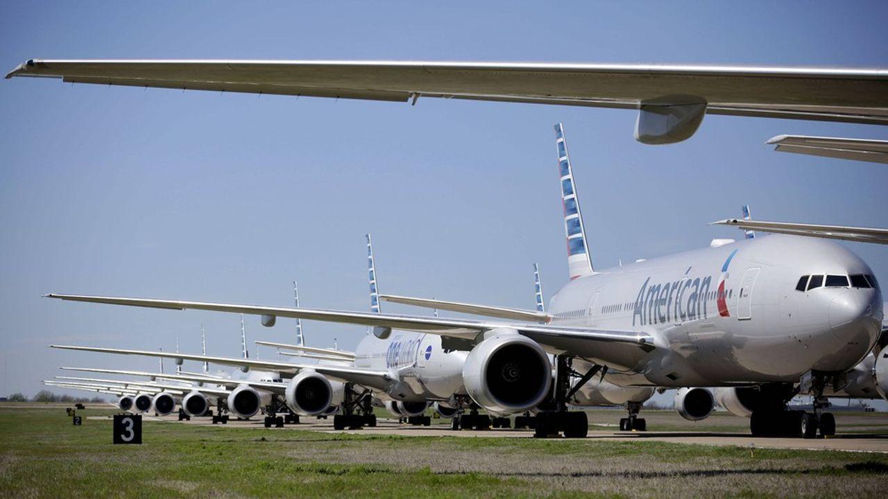 De nombreux avions sont restés cloués au sol ces dernières semaines en raison de la crise du Covid-19.