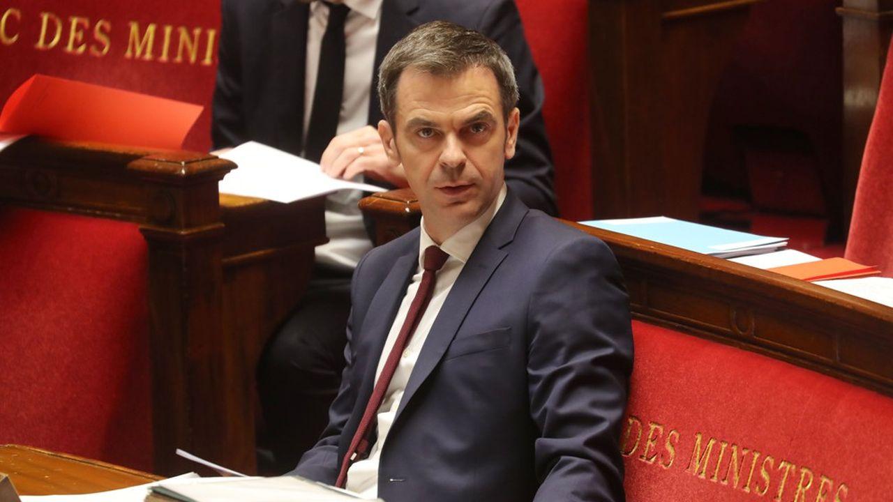 Olivier Véran est le ministre de la Santé.