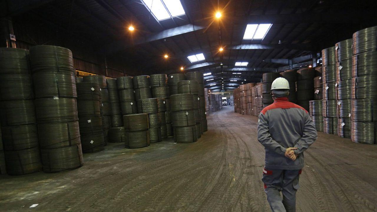 La demande d'acier sur le Vieux Continent s'est effondrée de 50% depuis février.