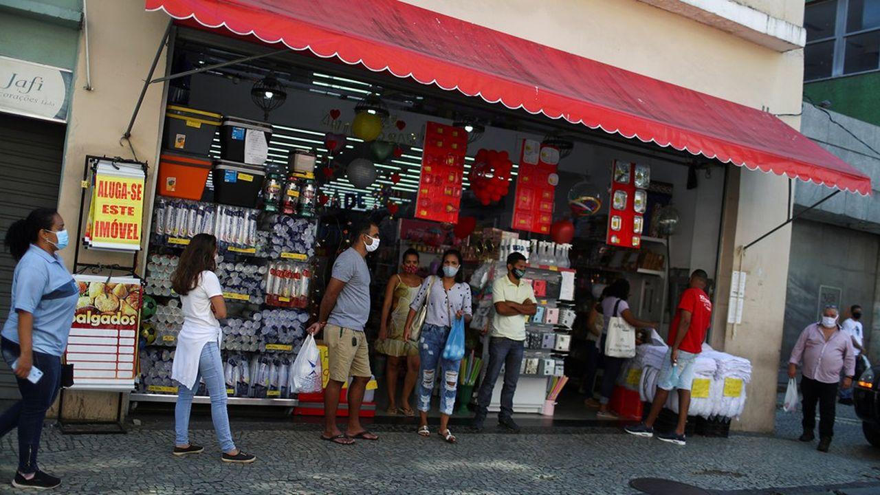 Les pays d'Amérique latine, ici le Brésil à Rio de Janeiro, sont durement touchés par l'épidémie.
