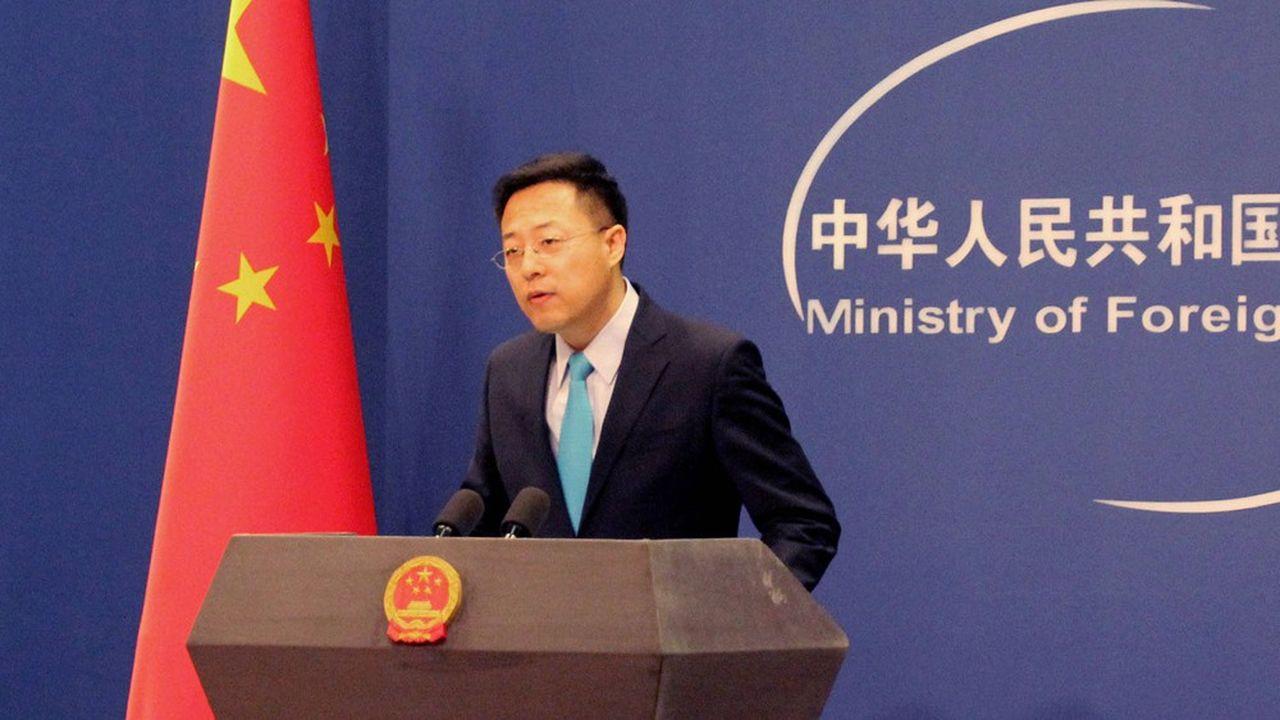 Le nouveau porte-parole du ministère des affaires étrangères, Zhao Lijian, en poste depuis février, dégaine des tweets incendiaires aussi vite que Donald Trump.