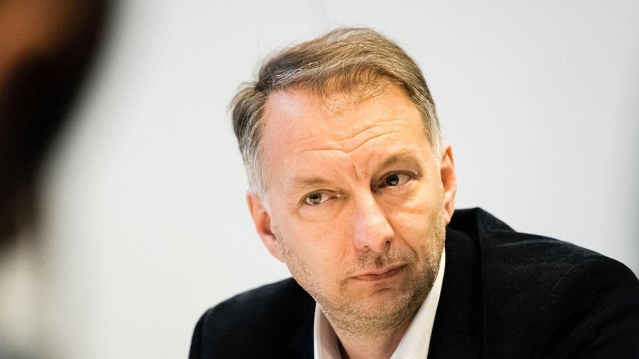 Bruno Bernard, candidat d'EELV pour la métropole de Lyon.