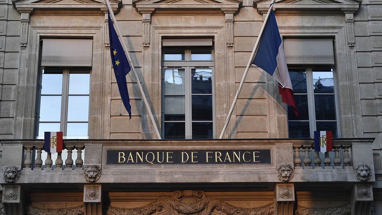 La Banque de France surveille l'endettement des entreprises.