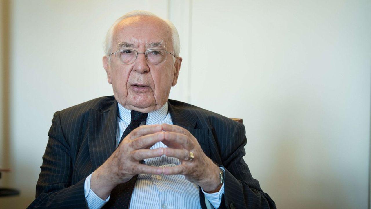 Jacques de Larosière, ancien gouverneur de la Banque de France, ancien directeur général du FMI.