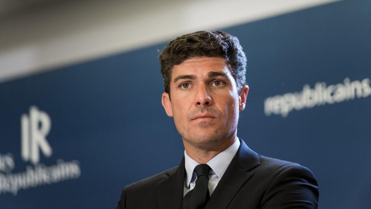 Député du Lot, Aurélien Pradié est le secrétaire général de LR, ce qui en fait le numéro trois du parti.