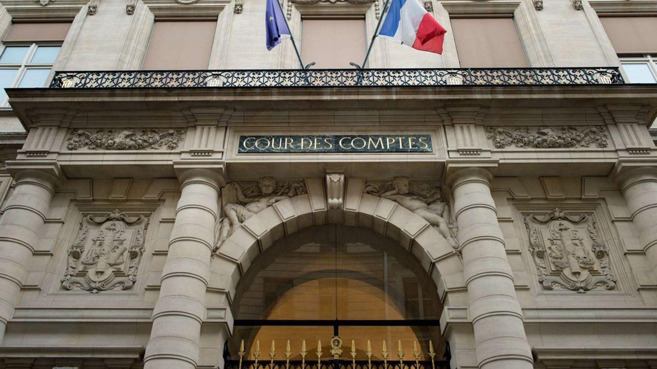 Le siège de la cour des comptes, à Paris.