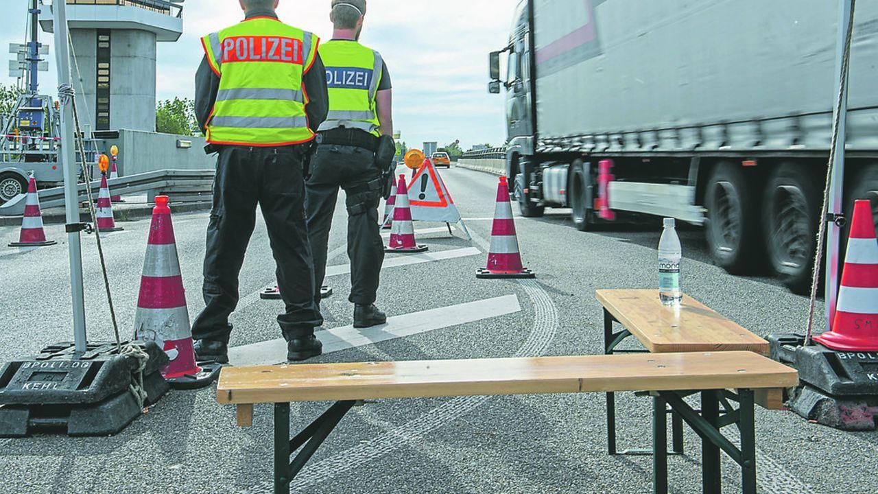 Les frontières entre la France et l'Allemagne, fermées depuis près de trois mois, seront rouvertes le 15juin.