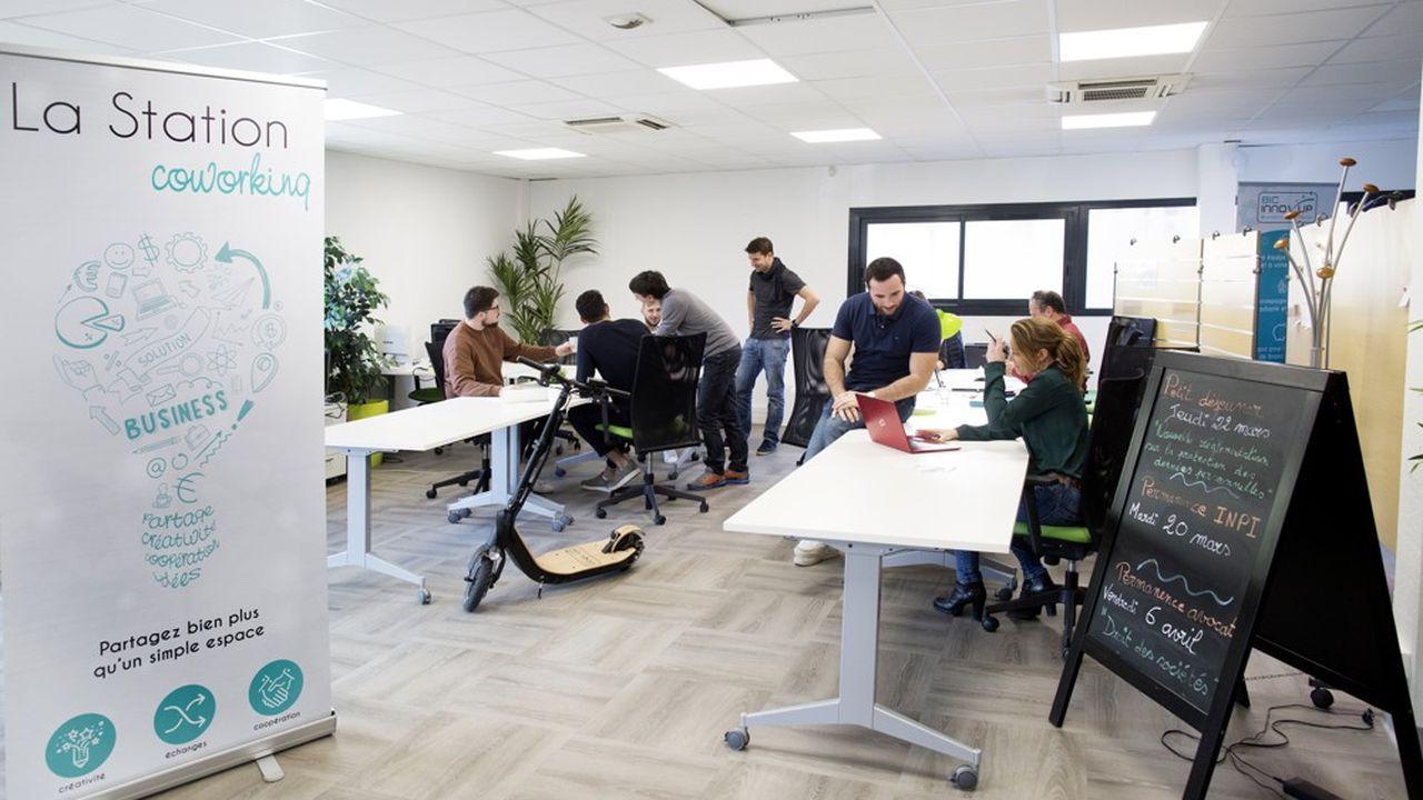 Ces start-up sont hébergées par l'incubateur Bic Innov'up.