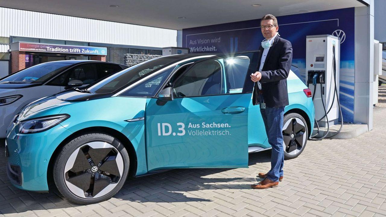 Les 100.000 ventes d'ID3 un temps espérées par Volkswagen cette année ne seront pas atteintes.