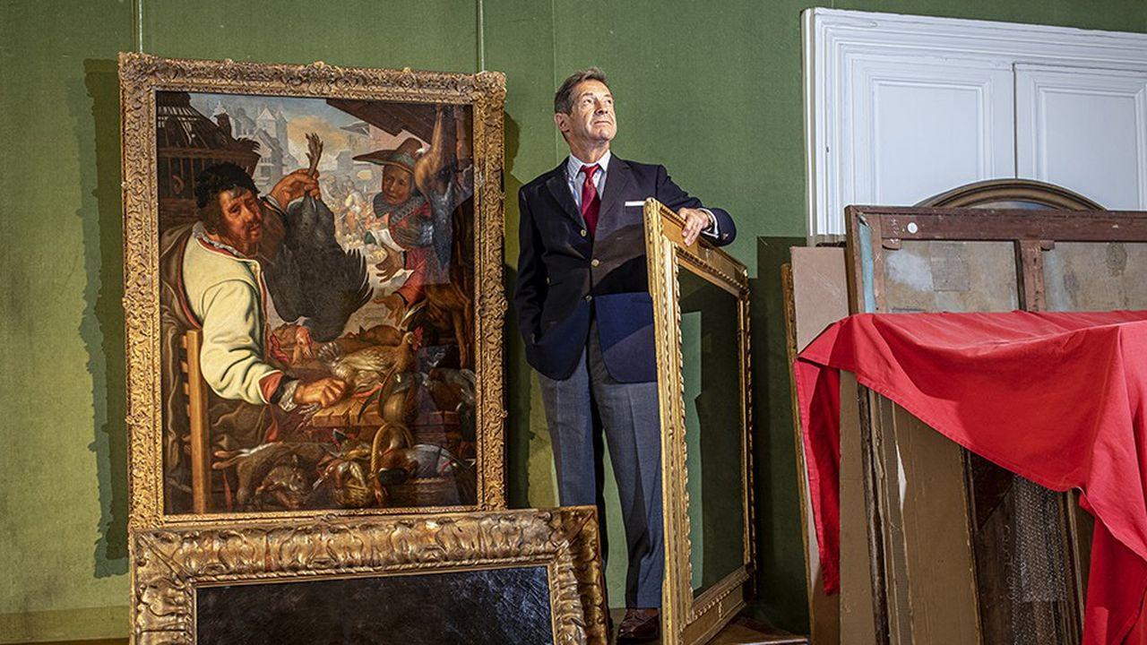 Eric Turquin, le Sherlock Holmes de la peinture