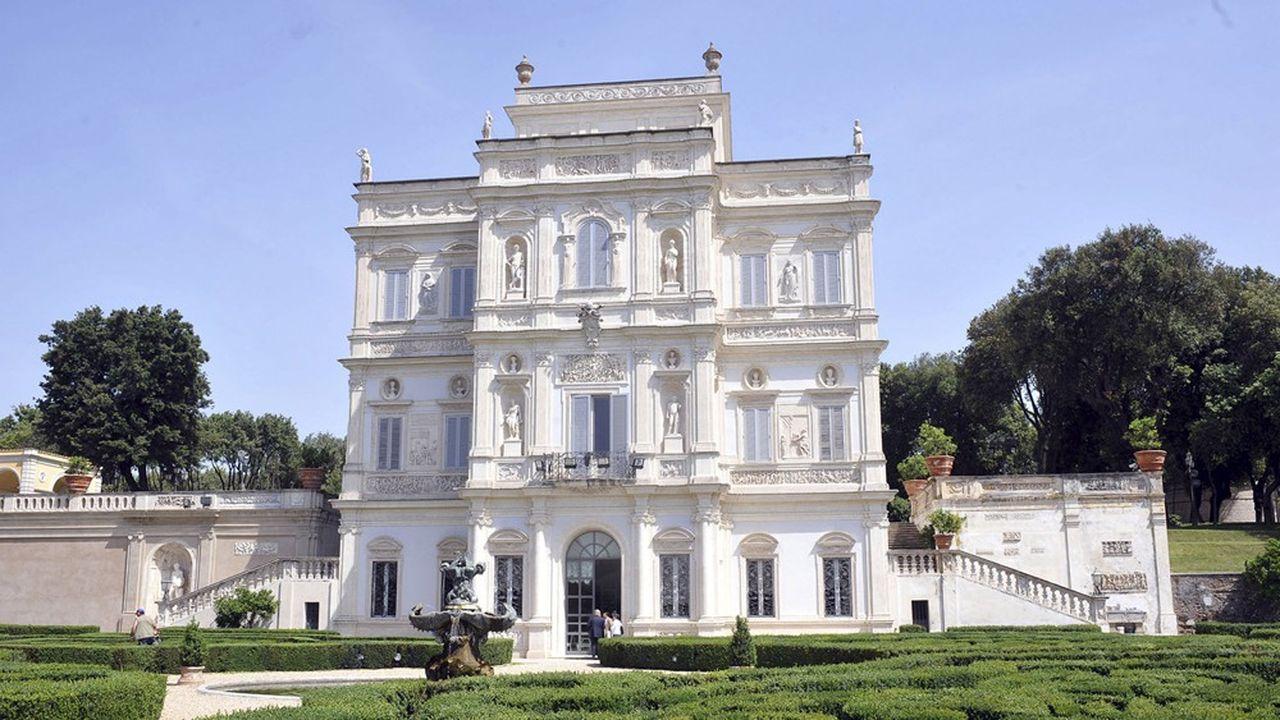 Villa Doria Pamphili et le casino del Bel Respiro, où se tiendront les Etats généraux voulus par Giuseppe Conte à Rome samedi.