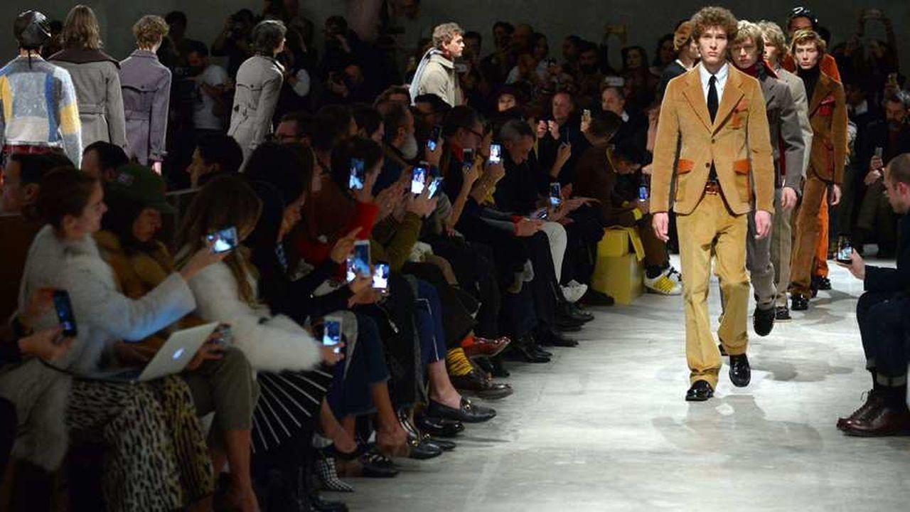 Fashion Week Homme Hiver 2017: Prada post-moderne