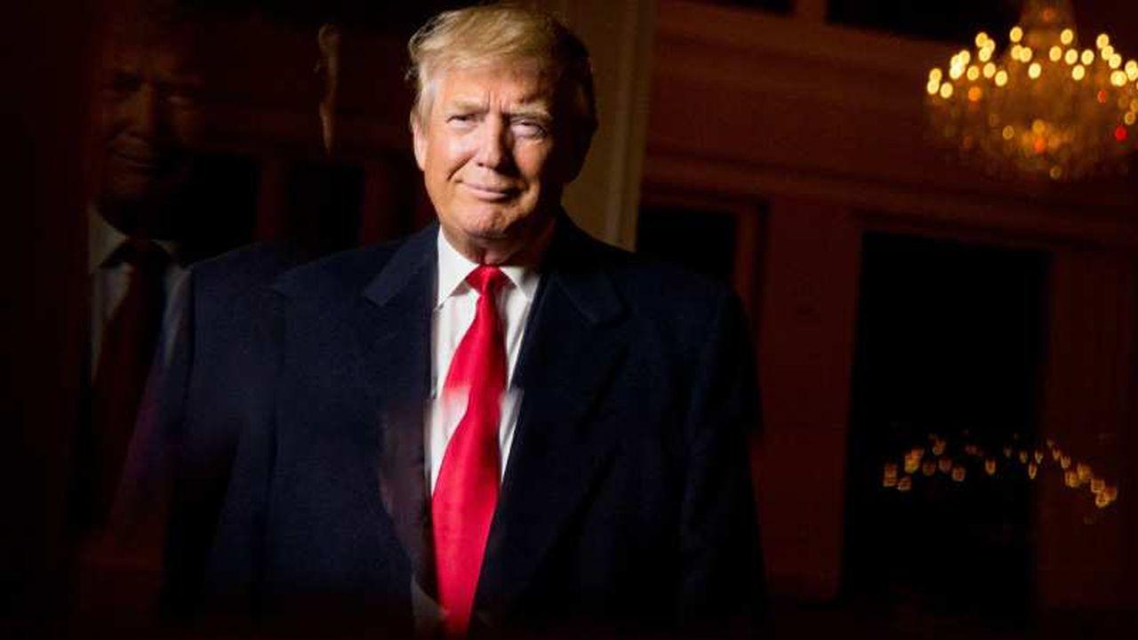 Donald Trump, seule «célébrité» à son investiture