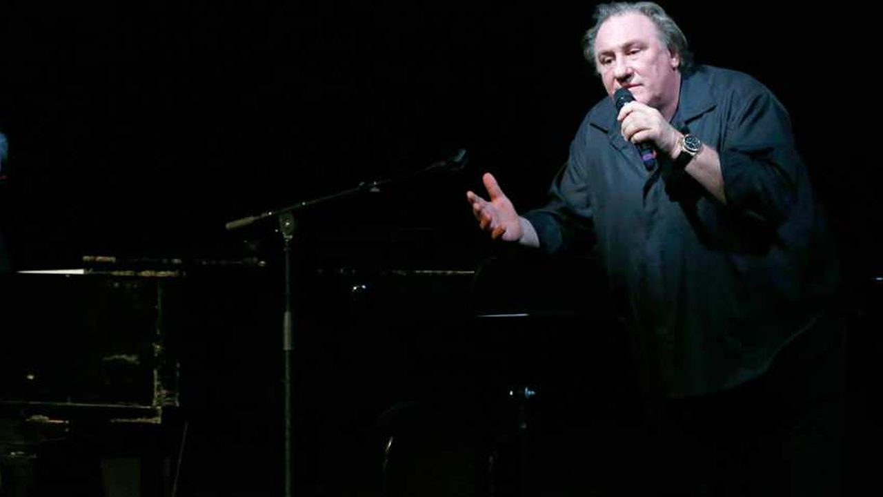 Depardieu chante Barbara, l'amie de l'au-delà
