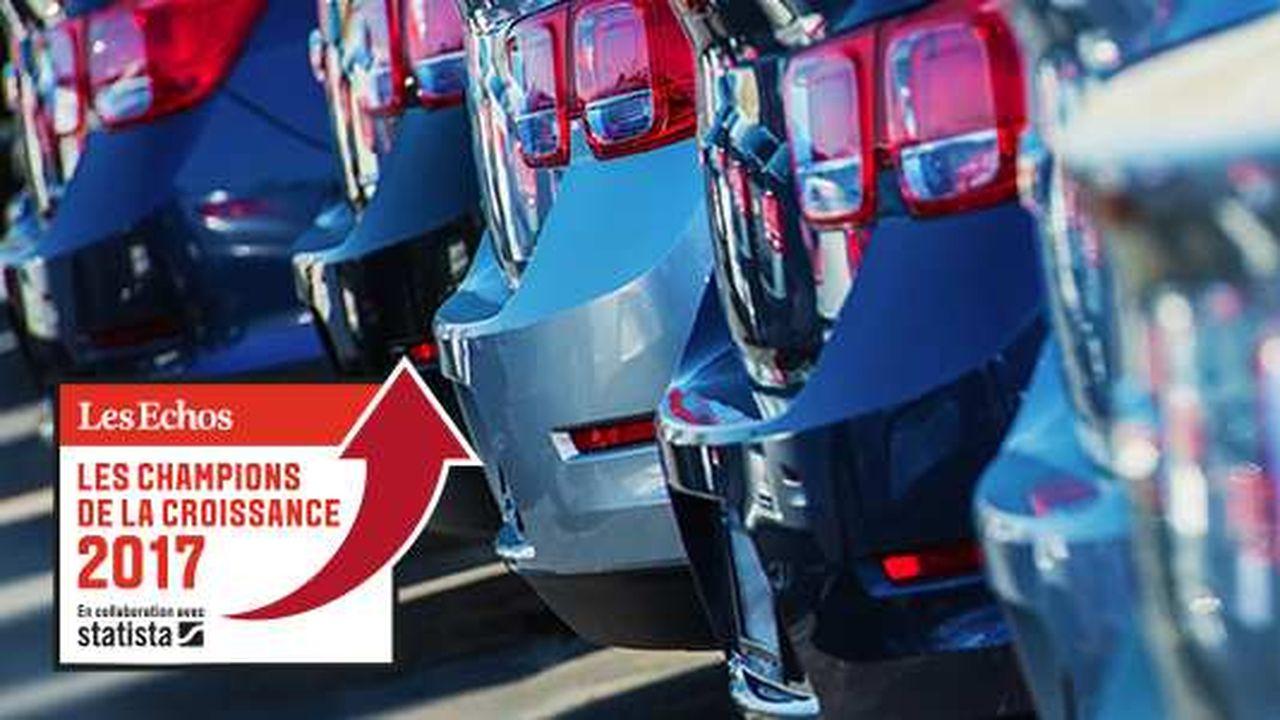 Les Champions de la Croissance 2017 dans la distribution et la réparation automobile