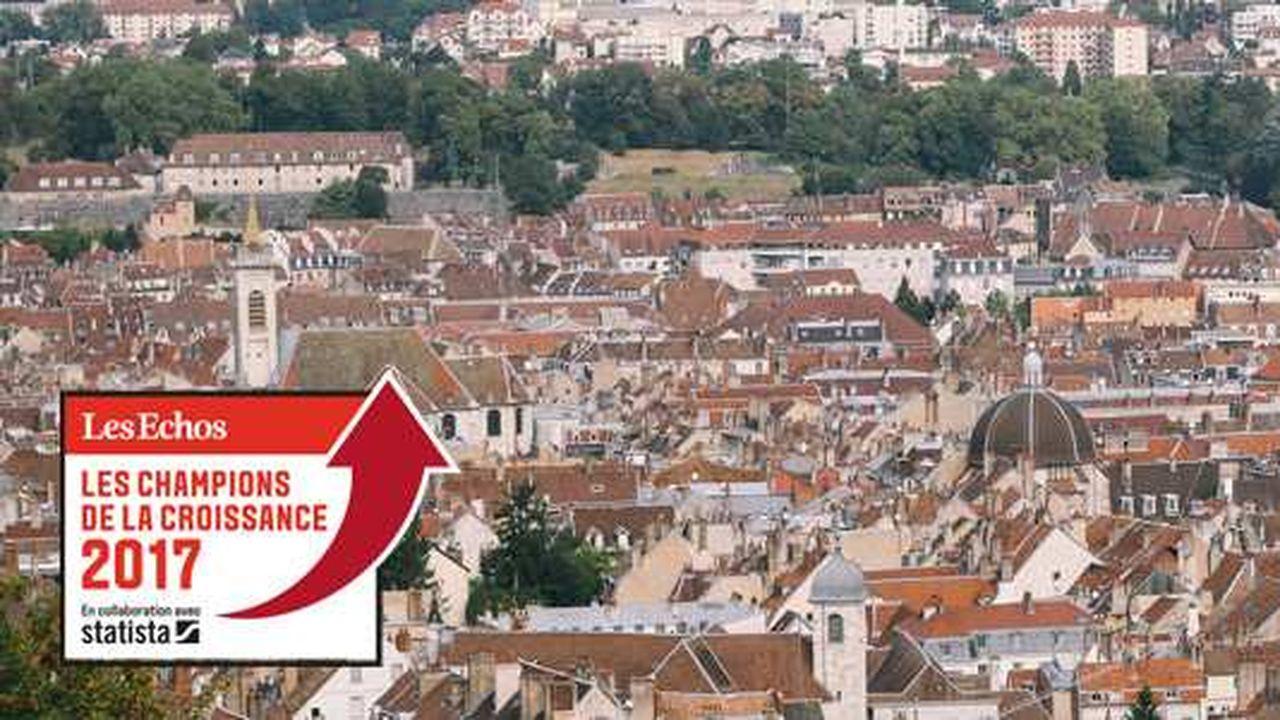 Les Champions de la Croissance 2017 en Bourgogne-Franche-Comté