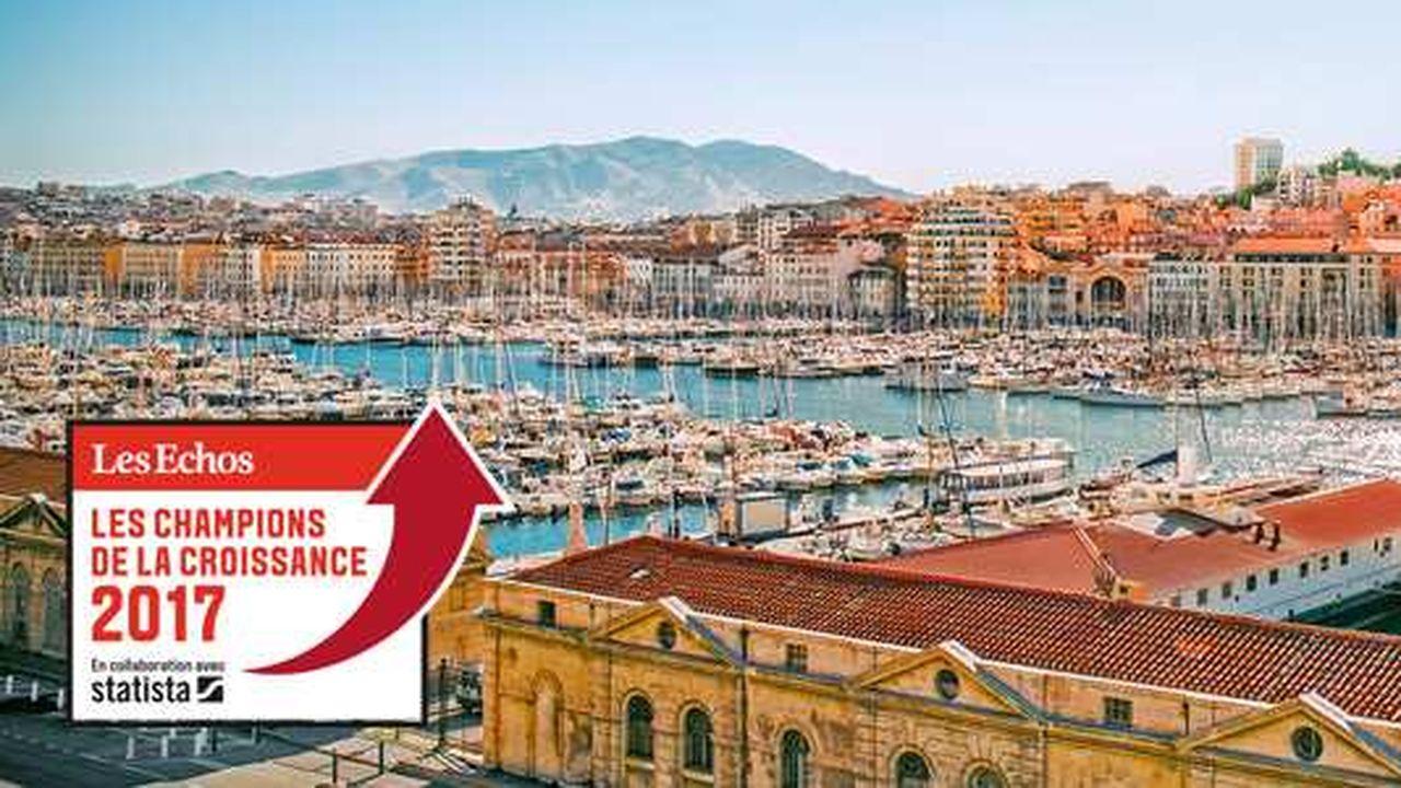 Les Champions de la Croissance 2017 en Provence-Alpes-Côte d'Azur