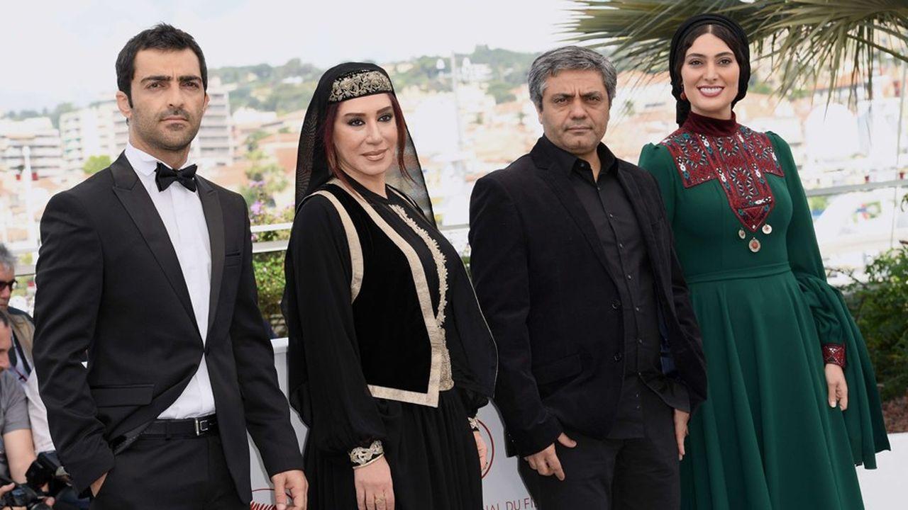 """En 2011, l'Iranien Mohammad Rasoulof (3e en partant de la gauche) avait reçu le prix de la mise en scène d'Un Certain Regard pour """"Au revoir"""""""
