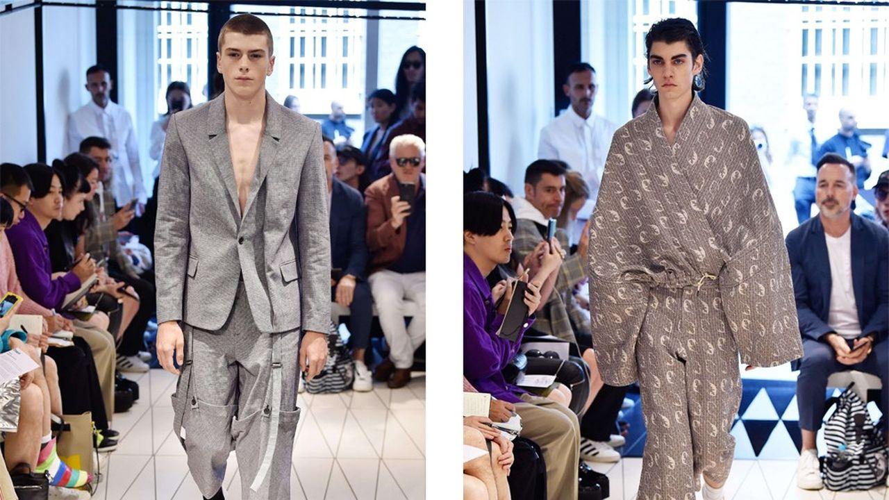 Fashion Week Homme Été 2018: l'uniforme de Chalayan