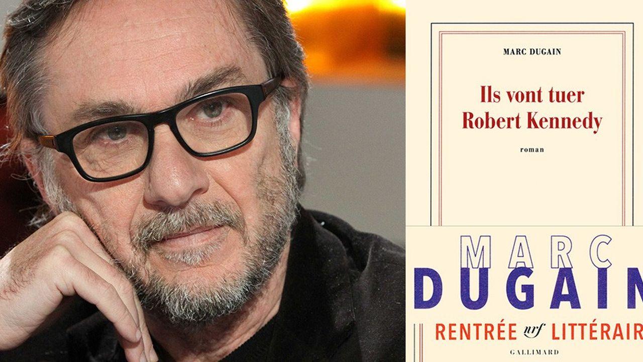 Marc Dugain, auteur de« Ils vont tuer Robert Kennedy »