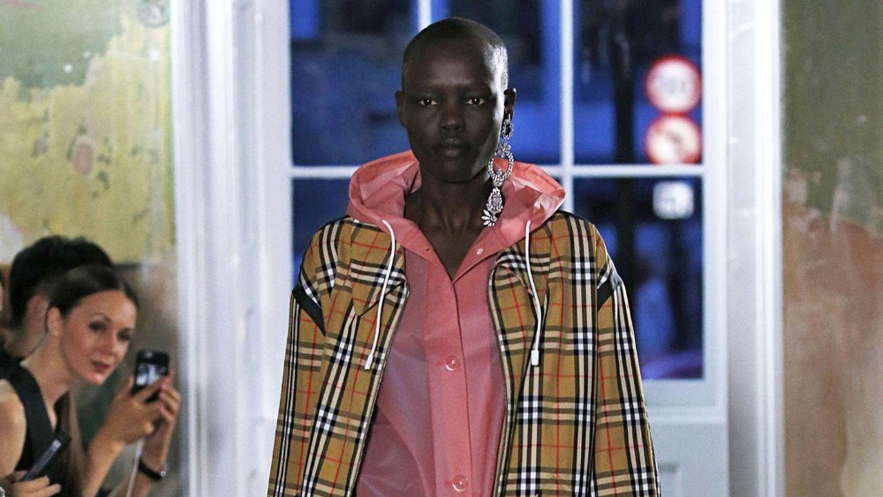 Fashion Week : l'Angleterre de Burberry
