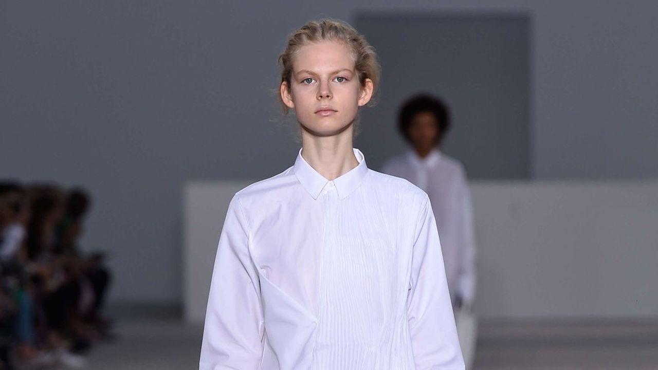 Fashion Week Printemps-Été 2018 : la ligne claire de Jil Sander