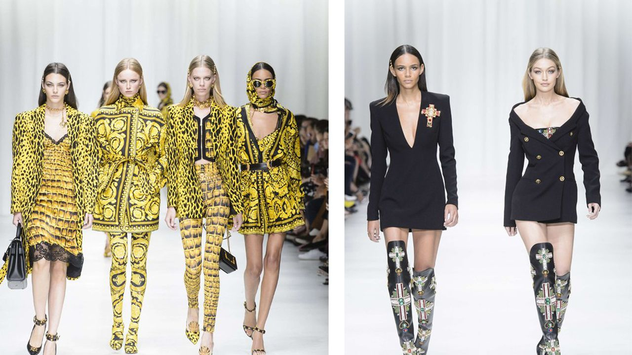 Fashion Week Printemps-Été 2018 : le grand glamour de Versace