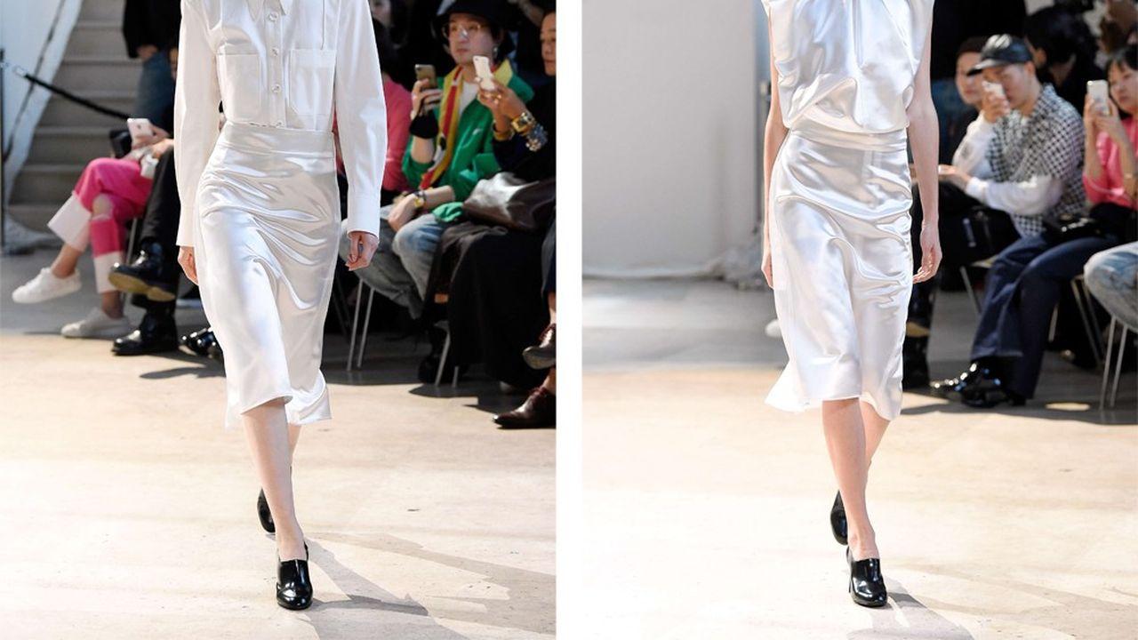 Fashion Week Printemps-Été 2018 : la féminité de Lemaire
