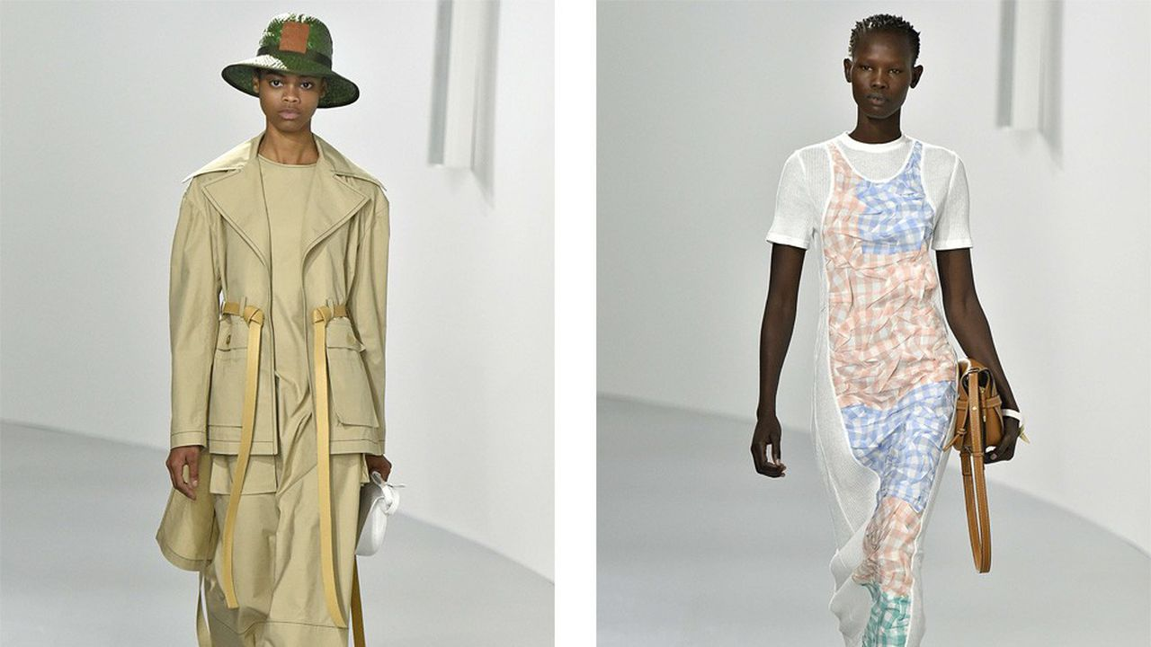 Fashion Week Printemps-Été 2018 : la sophistication Loewe