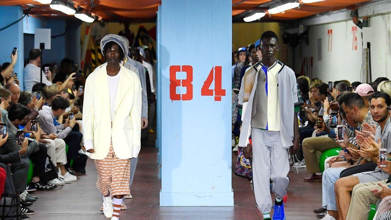 Fashion Week Homme Printemps-Eté 2019 : la créativité de Marni