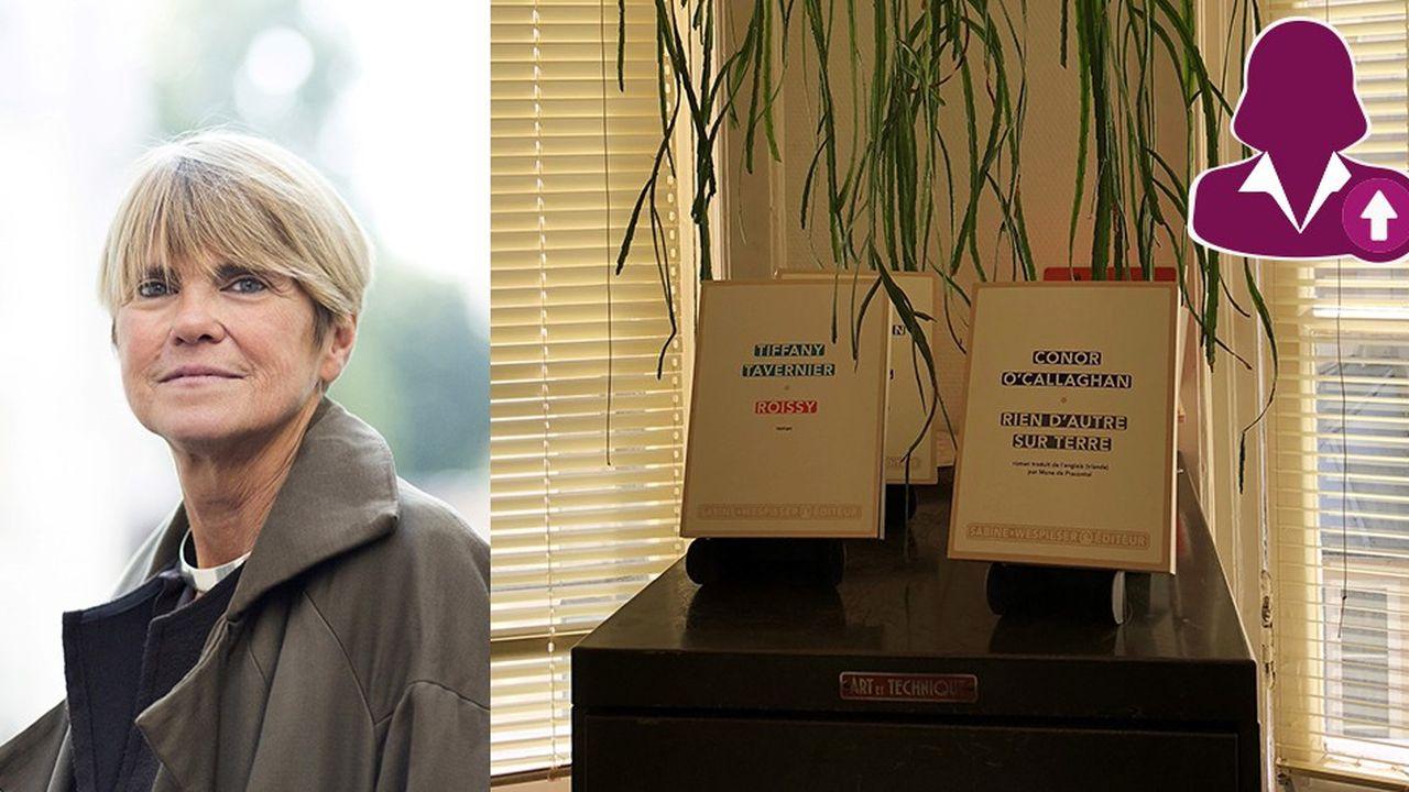 Après une quinzaine d'années chez Actes Sud, Sabine Wespieser a lancé sa propre maison d'édition au début des années 2000.