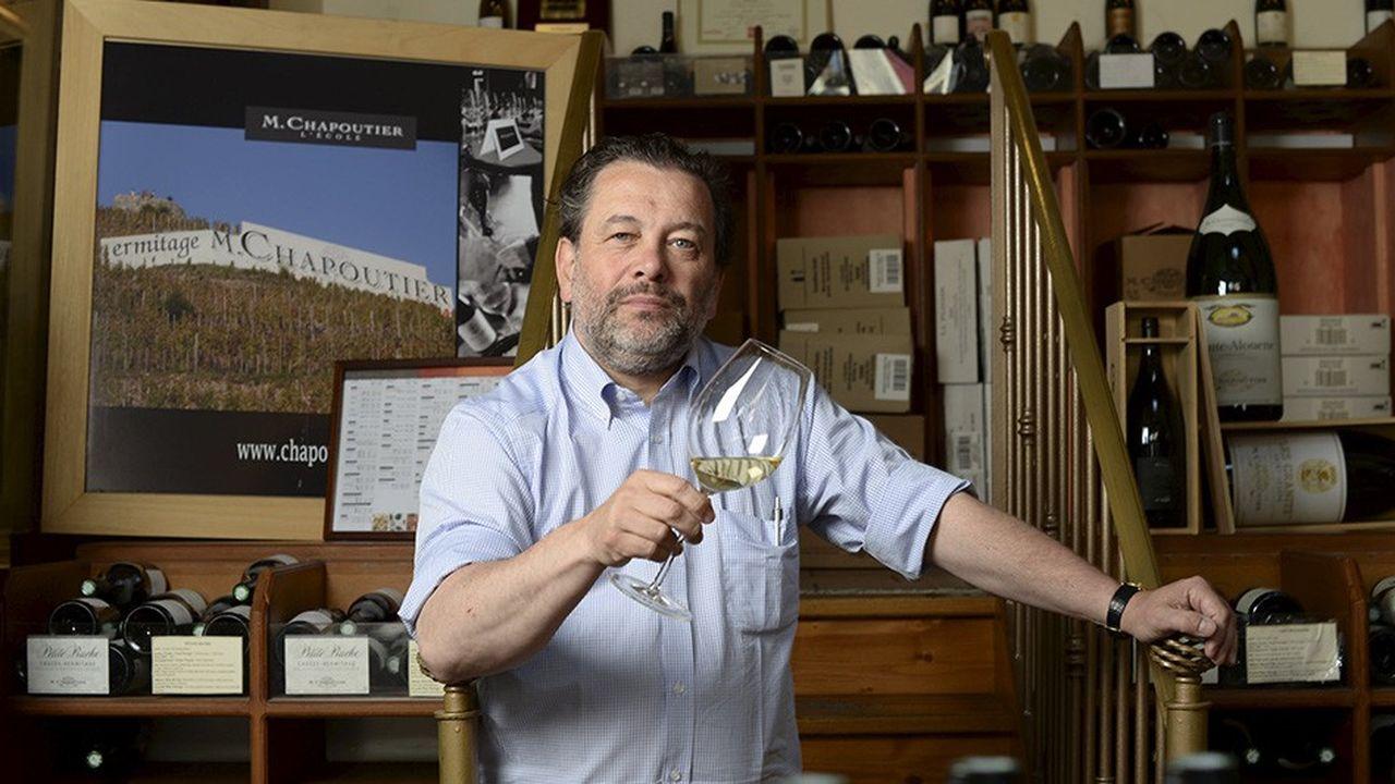 Michel ChapoutierVin de la vallee du Rhone, vignoble, terroir