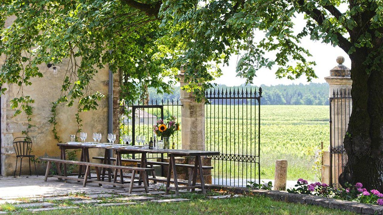 A Sauternes, La Chapelle est le premier restaurant ouvert au sein d'un premier grand cru classé, au Château Guiraud.