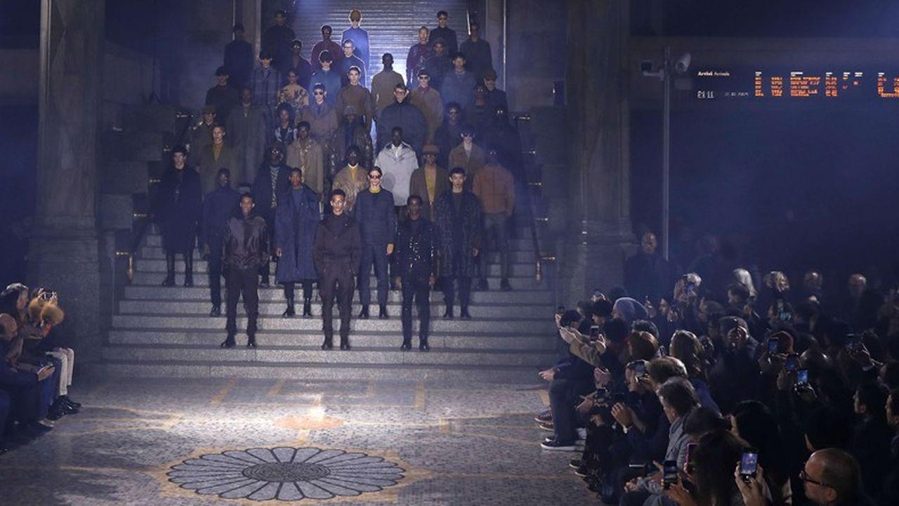 Fashion Week Homme Hiver 2019 : le luxe nouvelle génération d'Ermenegildo Zegna