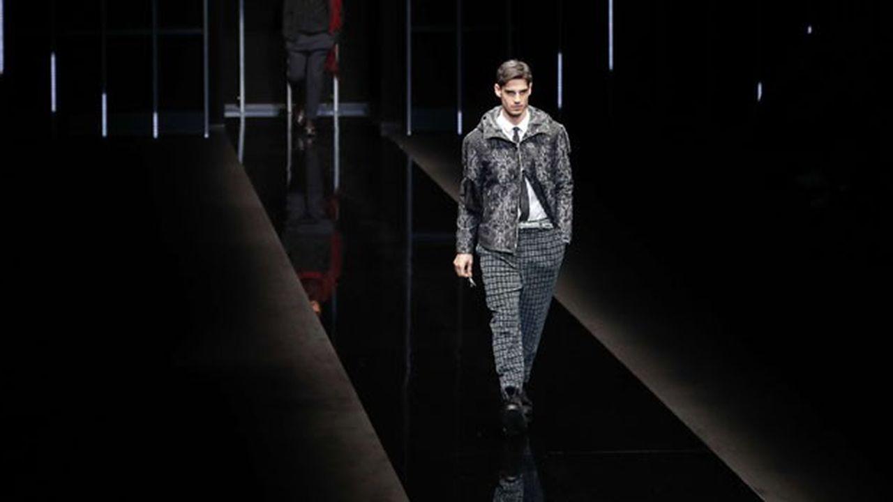 Fashion Week Homme Hiver 2019: l'élégance décontractée d'Emporio Armani
