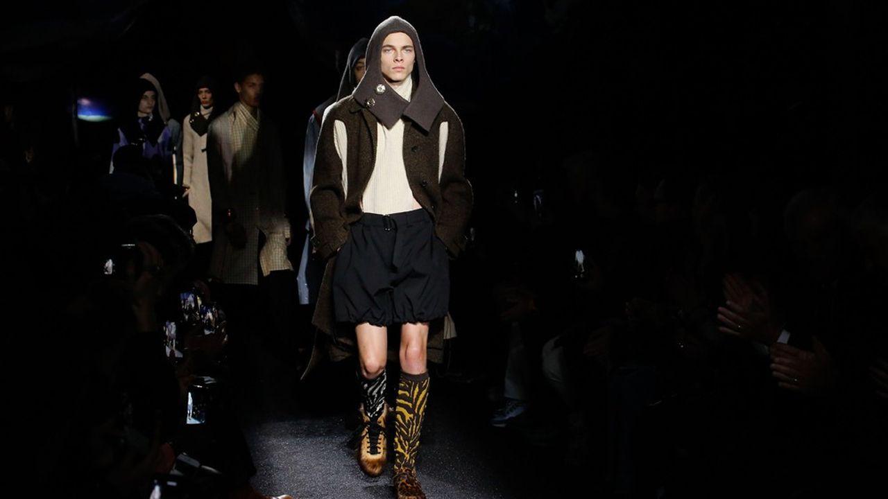 Fashion Week Homme Hiver 2019: JW Anderson parisien