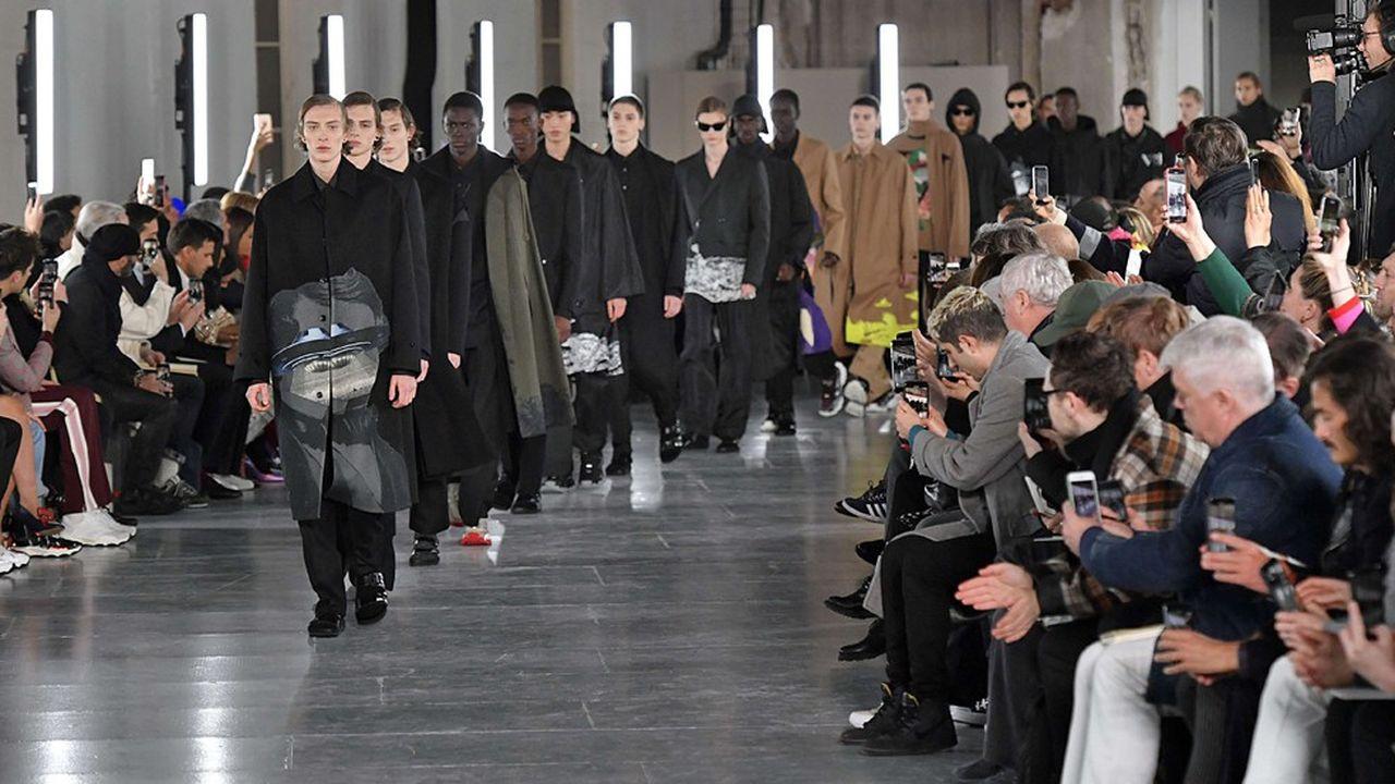 Fashion Week Homme Hiver 2019: le luxe urbain de Valentino