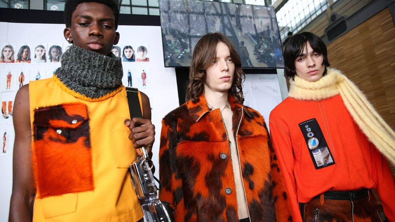 Fashion Week Homme Hiver 2019: l'underground d'Acne Studios