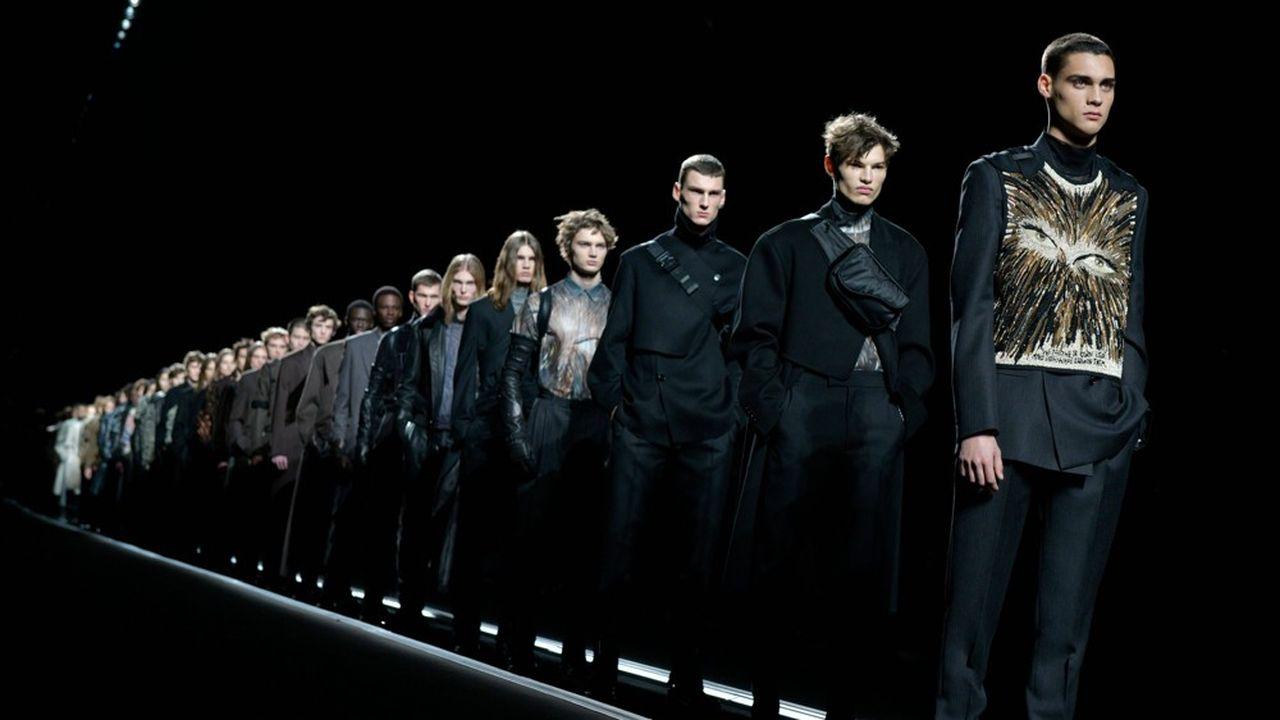 Fashion Week Homme Hiver 2019: Dior, Master Jones