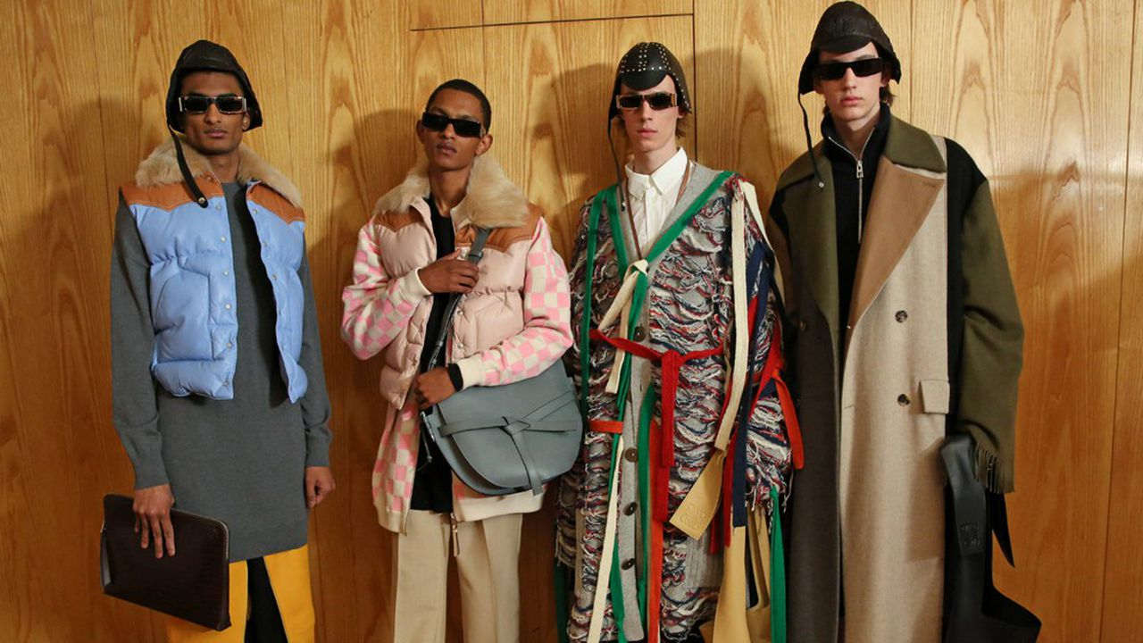 Fashion Week Homme Hiver 2019 : Loewe, le charme Anderson