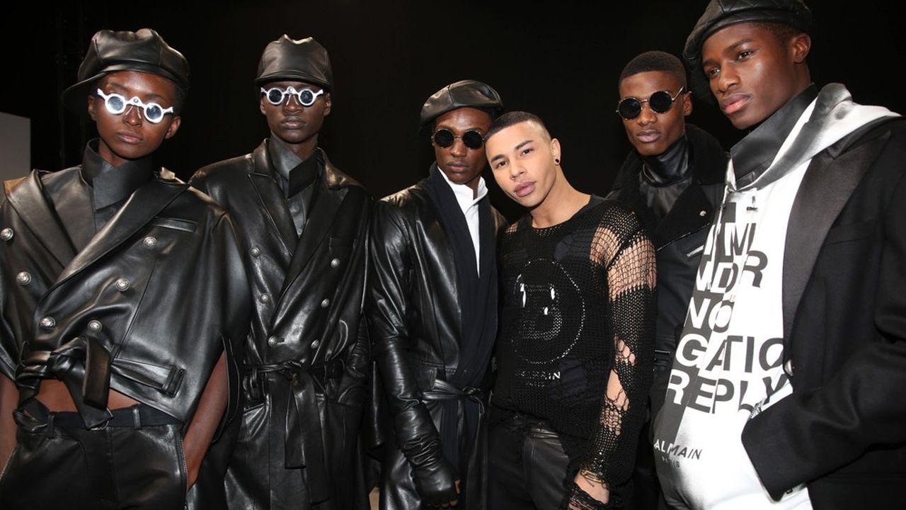 Fashion Week Homme Hiver 2019: Balmain Homme, inclusif